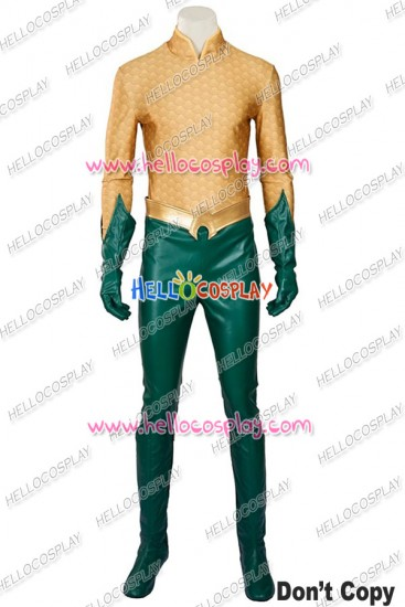 Young Justice Aquaman Cosplay Costume