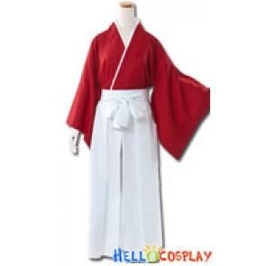 Rurouni Kenshin Cosplay Himura Kenshin Kimono Costume