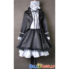Vocaloid 2 Cosplay Himitsu Keisatsu Hatsune Miku Costume