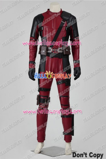 Deadpool Wade Wilson Cosplay Costume Version A