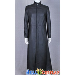 Neo Black Leather Coat Costume From The Matrix