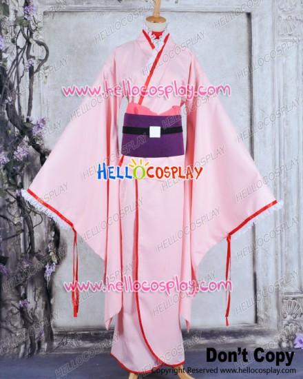 Otome Yōkai Zakuro Youkai Cosplay Zakuro Costume Kimono Dress
