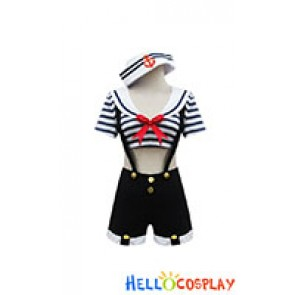 Lolita Cosplay Sexy Sailor Costume