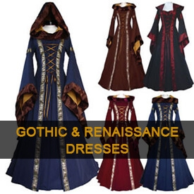 Gothic & Renaissance Dresses, Coming Soon